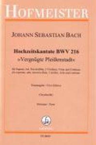 Hochzeitskantate BWV 216, Sts
