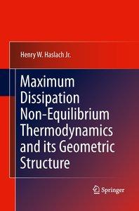 Maximum Dissipation Non-Equilibrium Thermodynamics and its Geome
