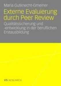 Externe Evaluierung durch Peer Review