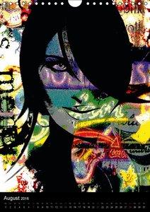 Pop Art 3 by Ronny Sommerfeldt (Wandkalender 2016 DIN A4 hoch)