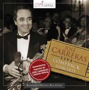 Jos? Carreras Live-Comeback Concertos