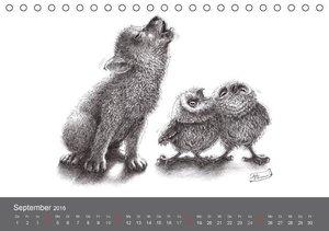 owls & friends 2016 (Tischkalender 2016 DIN A5 quer)