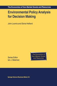Environmental Policy Analysis for Decision Making