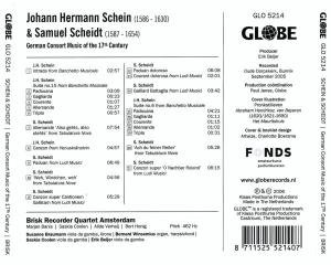 German Consort Music of the 17th Century
