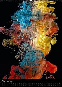 Experimentelle Fotografie Liquid Art (Wandkalender 2016 DIN A2 h