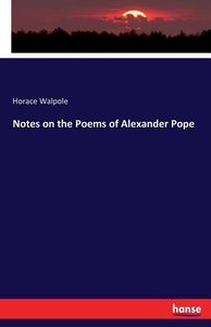 Notes on the Poems of Alexander Pope