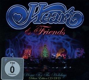 Heart & Friends-Home For The Holidays (Digipak)