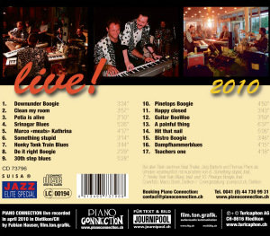 Boogie Woogie & Blues-Live 2010