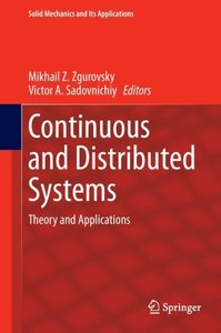 Continuous and Distributed Systems
