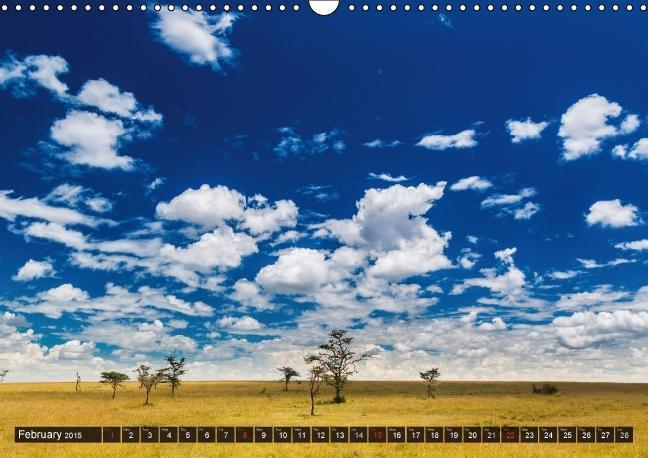 Kenya 2015 / UK-Version (Wall Calendar 2015 DIN A3 Landscape) - zum Schließen ins Bild klicken