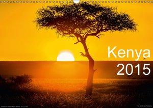 Kenya 2015 / UK-Version (Wall Calendar 2015 DIN A3 Landscape)