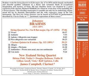 Streichquartett 3/Klarinettenquintet