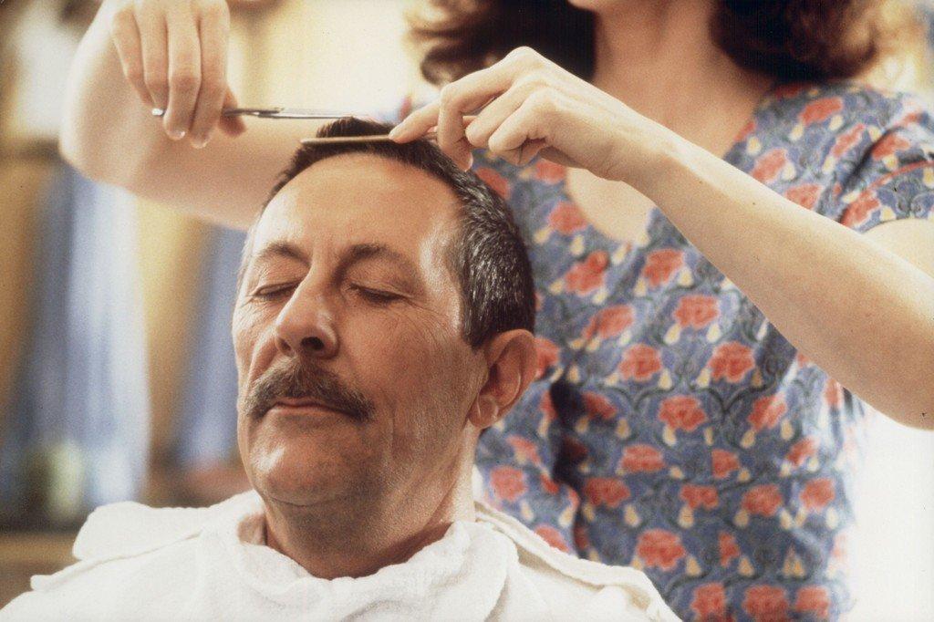 Der Mann der Friseuse - zum Schließen ins Bild klicken