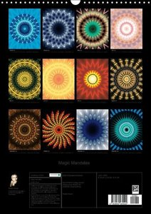 Magic Mandalas (Wandkalender 2016 DIN A3 hoch)