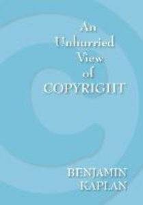 An Unhurried View of Copyright