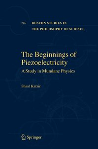 The Beginnings of Piezoelectricity