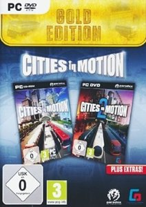 Cities in Motion 1+ 2 Gold. Für Windows XP/Vista/7/8
