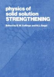 Physics of Solid Solution Strengthening
