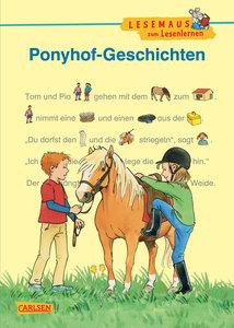 LESEMAUS zum Lesenlernen Sammelbände: Ponyhof-Geschichten zum Le