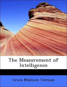 The Measurement of Intelligence
