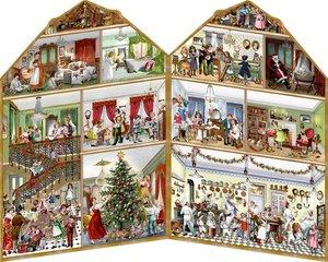 Aufstellkalender - Weihnachten bei uns Zuhaus