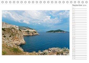 Kroatien / CH-Version / Geburtstagsplaner (Tischkalender 2016 DI