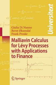 Malliavin Calculus for Lévy Processes with Applications to Finan