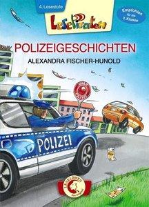 Lesepiraten - Polizeigeschichten. Großbuchstabenausgabe