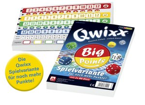Nürnberger Spielkarten 4039 - Qwixx Big Points, 160 Blatt im 2er
