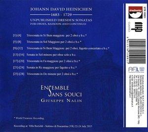 Unveröffentlichte Sonaten aus Dresden