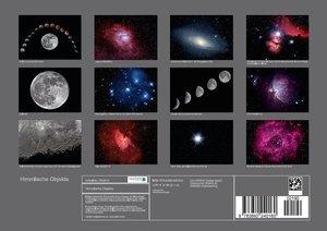 Himmlische Objekte (Posterbuch DIN A4 quer)
