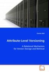 Attribute-Level Versioning