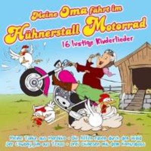 Meine Oma fährt im Hühnerstall Motorrad-16 lustig