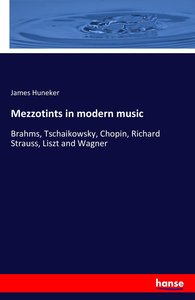 Mezzotints in modern music