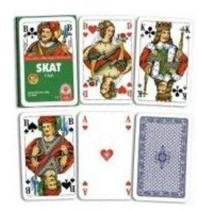 ASS Altenburger Spielkarten 70001 - Skat, französisches Bild, Pl