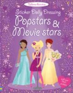 Sticker Dolly Dressing. Popstars and Movie Stars
