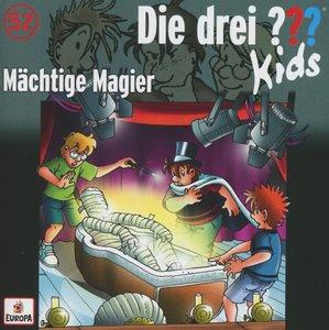 Die drei ??? Kids 52: Mächtige Magier (drei Fragezeichen)