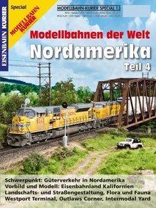 Modellbahn-Kurier Special 14. Modellbahnen der Welt: Nordamerika