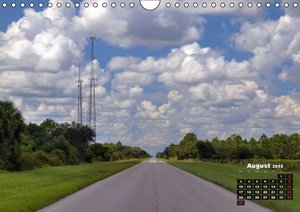 USA Country Roads / UK - Version (Wall Calendar 2015 DIN A4 Land