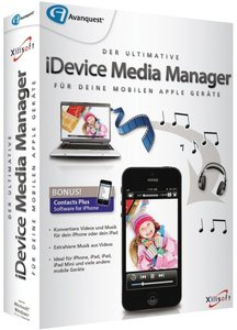 iDevice Media Manager - für mobile Apple-Geräte