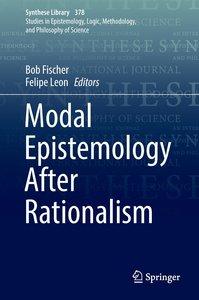 Modal Epistemology After Rationalism