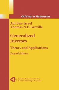 Generalized Inverses