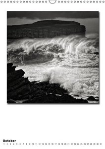 Ocean / UK-Version (Wall Calendar perpetual DIN A3 Portrait)