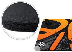 SteelSeries QcK+ Fnatic Asphalt Edition Gaming Mauspad