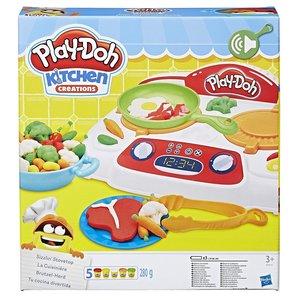 Hasbro B9014EU4 Play-Doh Brutzel-Herd