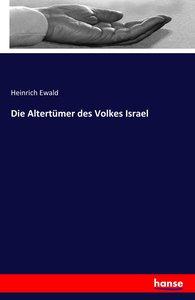 Die Altertümer des Volkes Israel