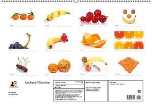 Leckere Vitamine (Wandkalender 2016 DIN A2 quer)