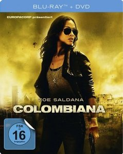 Colombiana (Lim.BD SteelBook Col.)