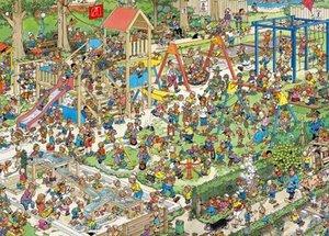 Der Spielplatz - Puzzle 1000 Teile
