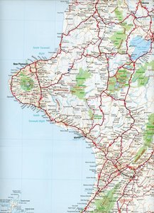 New Zealand North Island 1 : 1 000 000